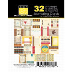 Bazzill Basics - Margie Romney Aslett - Autumn Harvest Collection - 3 x 4 Journaling Cards