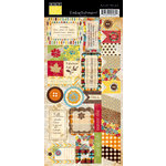 Bazzill Basics - Margie Romney Aslett - Autumn Harvest Collection - Cardstock Stickers