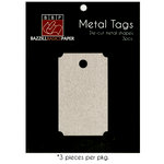 Bazzill Basics - Metal Tags - Movie Ticket
