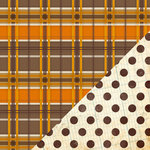 Bazzill Basics - Margie Romney Aslett - Autumn Harvest Collection - 12 x 12 Double Sided Paper - Old Wool Blanket