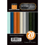 Bazzill Basics - Janet Hopkins - Arsenic and Lace Collection - 4 x 6 Coordinating Cardstock Multipack