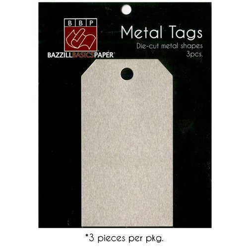 Bazzill Basics - Metal Tags - Price Tag