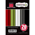 Bazzill Basics - Sweetwater - Countdown to Christmas Collection - 4 x 6 Coordinating Cardstock Multipack