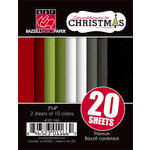 Bazzill Basics - Sweetwater - Countdown to Christmas Collection - 3 x 4 Coordinating Cardstock Multipack
