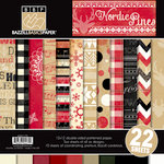 Bazzill Basics - Margie Romney Aslett - Nordic Pins Collection - 12 x 12 Assortment Pack