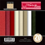 Bazzill Basics - Margie Romney Aslett - Nordic Pins Collection - 6 x 6 Coordinating Cardstock Multipack