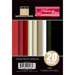 Bazzill Basics - Margie Romney Aslett - Nordic Pins Collection - 4 x 6 Coordinating Cardstock Multipack
