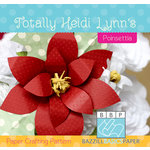 Bazzill - Paper Crafting Pattern - Poinsettia