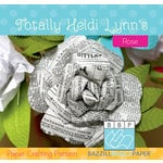 Bazzill - Paper Crafting Pattern - Rose