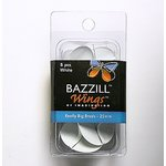 Bazzill Basics - Really Big Brads - 25 mm - White, CLEARANCE