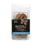 Bazzill Basics - Really Big Brads - 18 mm - Walnut, CLEARANCE