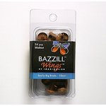Bazzill Basics - Really Big Brads - 10 mm - Walnut, CLEARANCE