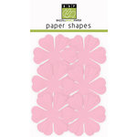 Bazzill Basics - Paper Shapes - Flowers - 6 Pieces - Primula - Cotton Candy