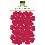 Bazzill Basics - Paper Shapes - Flowers - 6 Pieces - Primula - Lollipop