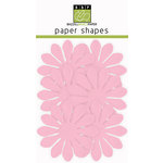 Bazzill Basics - Paper Shapes - Flowers - 6 Pieces - Gerbera - Cotton Candy