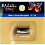 Bazzill Basics - Heavy Duty Magnets - 12 Qty