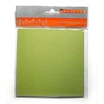 Bazzill Basics Accordion Cardstock - Square - Parakeet