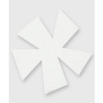 Bazzill Basics - Really Big Flower Chips - Pinwheel Flower, CLEARANCE