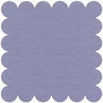 Bazzill Basics - 12x12 Scalloped Cardstock - Sugar Plum, CLEARANCE