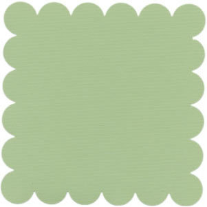 Bazzill Basics - 12x12 Scalloped Cardstock - Apple Green