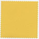 Bazzill Basics - 12x12 Mini Scallop Cardstock - Squash