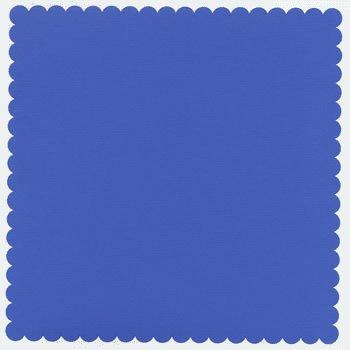 Bazzill Basics - 12x12 Mini Scallop Cardstock - Slate Blue, CLEARANCE