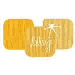 Bazzill Basics - Bazzill Bling Trios - Shimmer Cardstock - Bling Bling