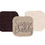Bazzill Basics - Bazzill Bling Trios - Shimmer Cardstock - Sugar Daddy Bling