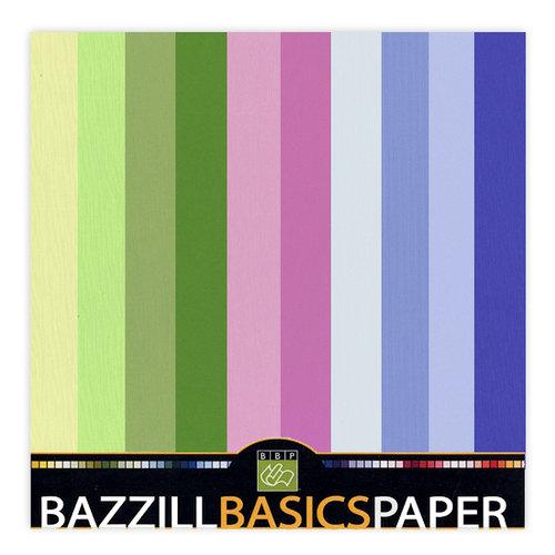 Bazzill Basics - 12x12 Carstock Multipack - Burlap Cool