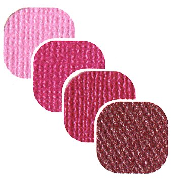 Bazzill Basics - Bazzill Bling - 4 Colors - 12x12 Cardstock - Strawberry Daiquiri Bling, CLEARANCE