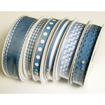 Bazzill Basics - Ribbon Bulk Pack - 90 Yards - Blue, CLEARANCE