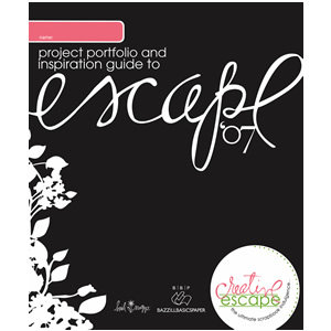 Bazzill Basics - Heidi Swapp - Creative Escape Idea Book - 2007