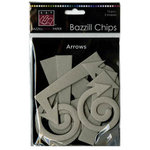 Bazzill - Chips - Die Cut Chipboard Shapes - Arrows