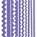Bazzill Basics - Just the Edge - 12 Inch Cardstock Strips - Brisbane, CLEARANCE