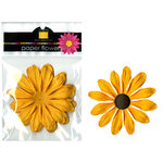 Bazzill Basics - Paper Flowers - Gerbera 4 Inch - Candle