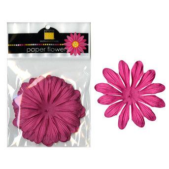 Bazzill Basics - Paper Flowers - Gerbera 3 Inch - Hot Pink, CLEARANCE