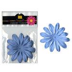 Bazzill Basics - Paper Flowers - Gerbera 3 Inch - Slate Blue