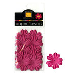 Bazzill Basics - Paper Flowers - Primula 1.5 Inch - Hot Pink, CLEARANCE