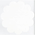 Bazzill Basics - 12x12 Flower Cardstock - White