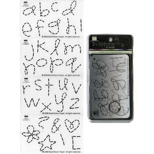 Bazzill Basics - In Stitch'z - Cardstock Stitching Template - Heidi Lynn's Hand