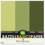 Bazzill - Dotted Swiss - 12 x 12 Cardstock Pack - 15 Sheets - Cloverleaf Trio