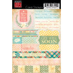 Bazzill Basics - Cardstock Stickers for Card Making - Thinking of You