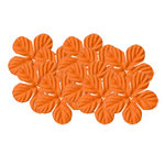 Bazzill Basics - 1.75 Inch Paper Flowers - Tropical Festive, CLEARANCE