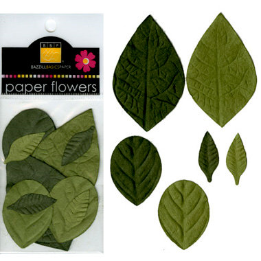Bazzill Basics - Paper Leaves