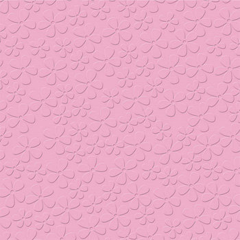 Bazzill - 12 x 12 Embossed Cardstock - Oopsy Daisy - Princess