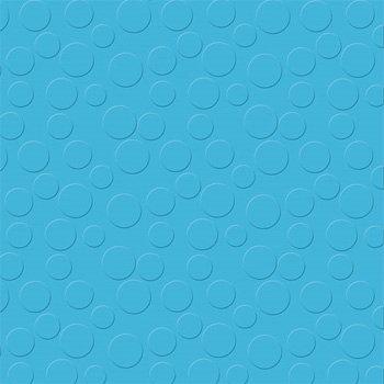 Bazzill - 12 x 12 Embossed Cardstock - Polka Dot - Ocean