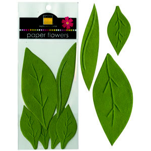 Bazzill Basics - Paper Leaves - Garden, CLEARANCE