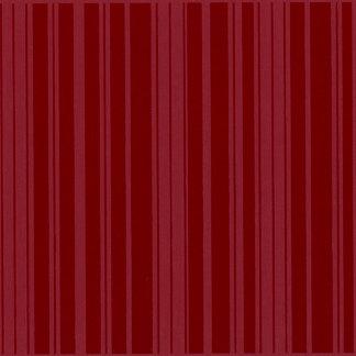Bazzill - 12 x 12 Glazed Cardstock - Random Stripe - Pomegranate