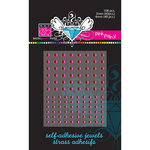 Bazzill Basics - Self Adhesive Jewels - 3 mm and 4 mm - Pink Fairy, CLEARANCE
