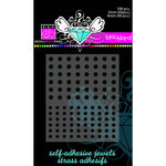 Bazzill Basics - Self Adhesive Jewels - 3 mm and 4 mm - Blackbird, CLEARANCE